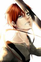 There is a Titan within Everyone (Eren) by EienSketcher