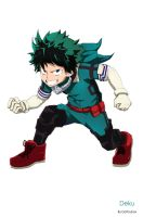 Izuku Midoriya by Dottsybox