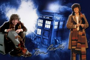 Tom Baker by stardustGirl13