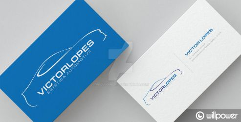 Victor Lopes Business Card by willpower
