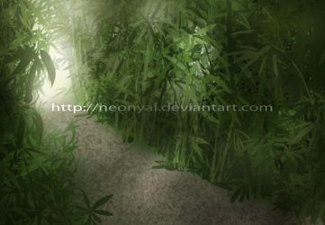 Bamboo Forest by Neonyal