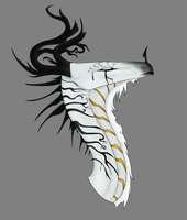 White and Gold by SilveryStormWing