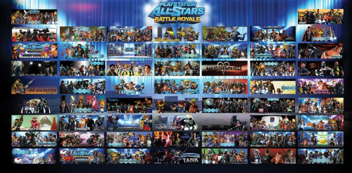 PlayStation All-Stars Battle Royale Forum Sigs by PacDuck
