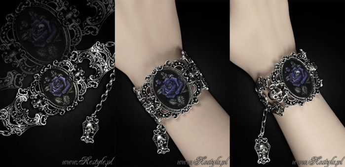Deadly Rose Hologram Bracelet by Euflonica