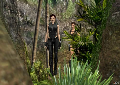 The expedition with Lara by DoppieCroft