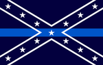 Confederate Blue Line by Beyond19