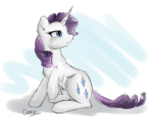 Rarity by CoffyTacoTuesday