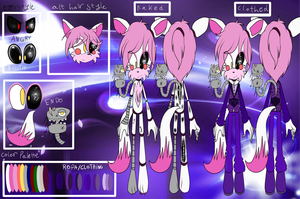 reference  mang the animatronic fox- mangle GB by shasted
