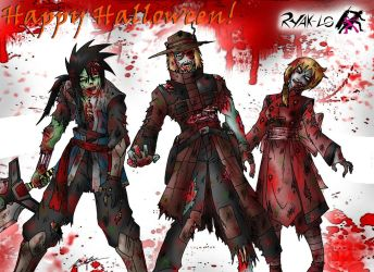 Happy Ryak-Loween 2012 by taresh