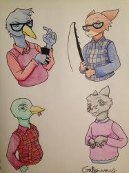NITW Side Characters p.7 by Fruitso