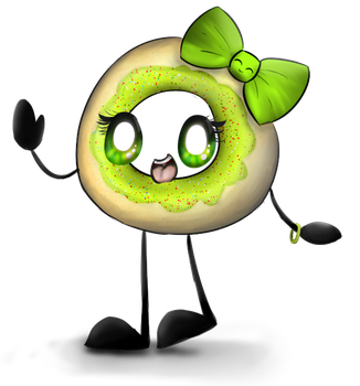 CM: Lime Donut by DidyMelody414