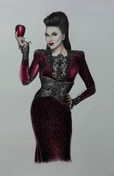 Evil Queen by KateFrankienaBeck