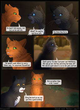 Warriors: Blood and Water - Page 77 by KelpyART