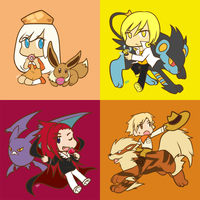 CookieRun feat. Pokemon by satonanji