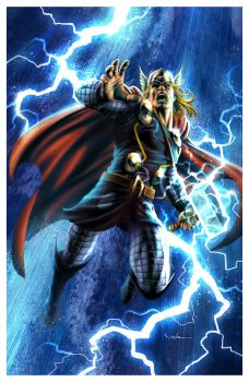 The Mighty Thor by CValenzuela