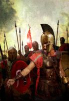 Stand of the Spartans by ChrisRawlins