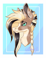 Headshort Commission (5/10) by Zunary