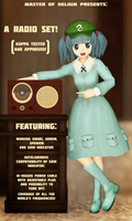 [MMD accessory download] Vintage radio by MasterOfHelium