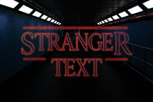 FREE STRANGER THINGS PSD TEXT STYLE by symufa