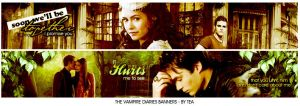 The Vampire Diaries banners by angellove97