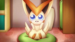 Victini by Masae