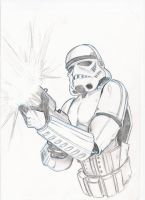Stormtrooper by Wil-Sinistar