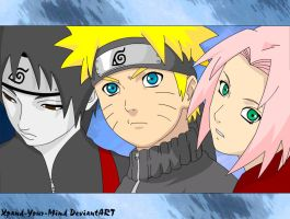 Naruto - The Real Team 7 by Xpand-Your-Mind