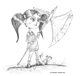 The girl's ax by jomra