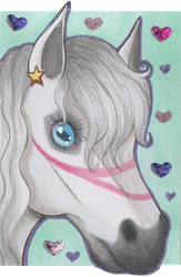 ACEO #203 Lovely Fantasy by Elythe