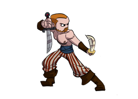 Pirate - Fiverr Commission by etchant