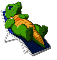 Alligator (Dragon Ball) by orco05