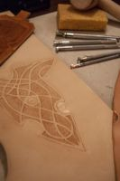 Elven leather work by jlpicard1701e