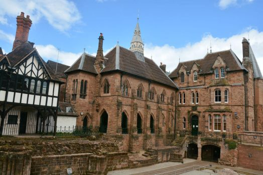 Old Blue Coat School, Coventry by Irondoors