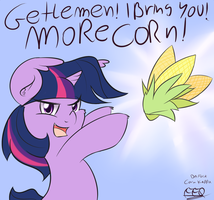 MORE CORN by FreeFraQ