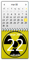 Radioactive Calendar Updated by rapha2