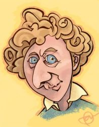Gene Wilder by WonderDookie