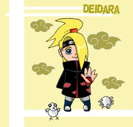 Chibi Deidara by darkgal666