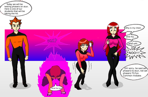 Set Phasers to TG Fun by GodofLizards