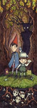 Over the Garden Wall by CorinneRoberts