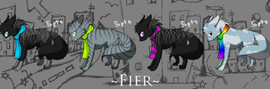 Fier - Rainy Day Set :5 pts: by Rythos