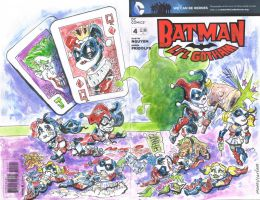 Sketch Cover All Harley Quinns by mannycartoon