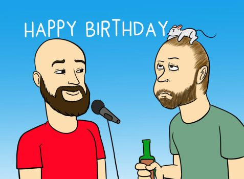 Happy Birthday Tomar and Stamper! by Ardhamon