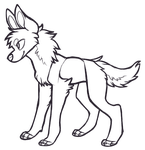 FREE Canine(?) Lineart by ThisAccountIsDead462