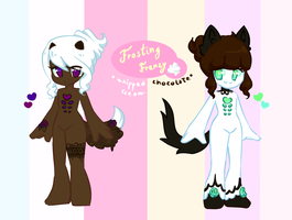 Dessiwee Adopts - Frosting Frenzy CLOSED by MaiaSadoptsNstuff