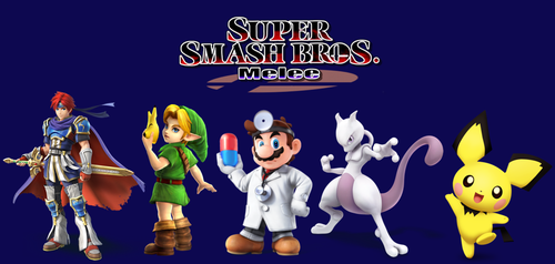 Characters cut from Super Smash Bros Melee by russellthedog