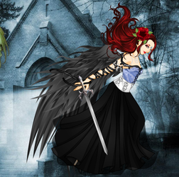 Dark Angel Rocksha by COnfessorRocksha