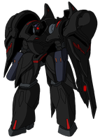 X01S Cygnus (Knightmare Frame mode) by unoservix