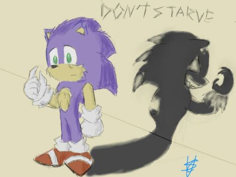 Don't Starve - Sonic by Ms-Maggie