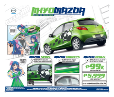Mazda Make It Your Own Ad by mangaholix