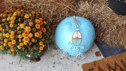Cinderella Carriage Pumpkin- Halloween 2016 #1 by blah1200